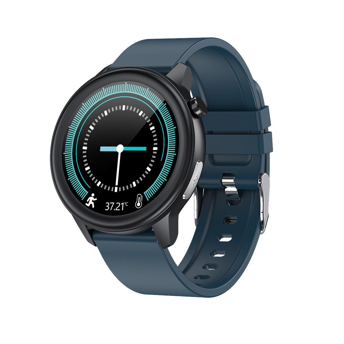 E80 digital bluetooth fitnesss sports healthy inspection smart watch 2