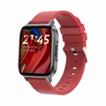 F60 temperature monitor digital smart watch with touch display