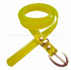 women's  plastic belts