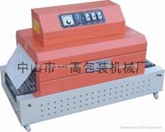 半自动餐具热收缩包装机(流水线)