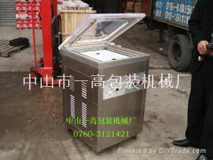 500双封口型单室真空包装机/胶水排气泡真空机 3