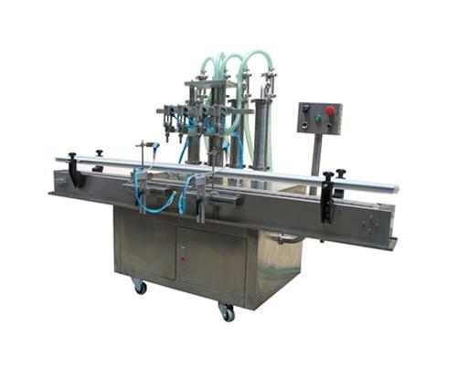 全自动液体灌装机(四头全自动) 1