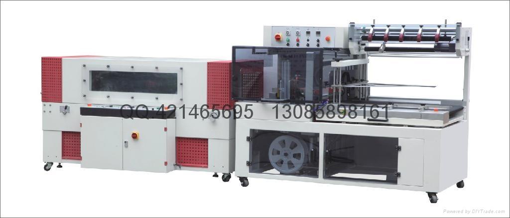 QL5545全自动L型封切机+BS-D4520热收缩包装机 3