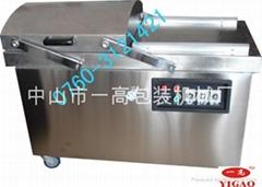 500双室真空包装机/腊肠腊肉真空包装机/广东真空包装机