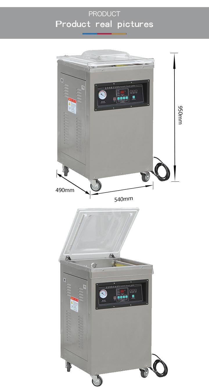 400型單室臘腸真空包裝機0760-23121421 4