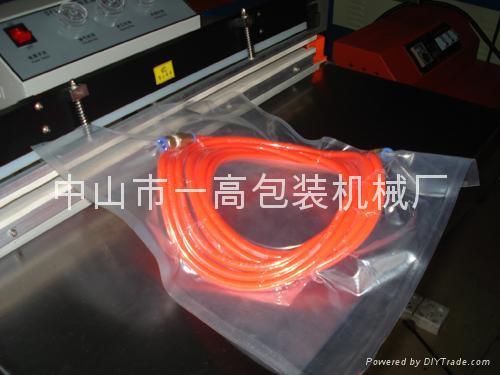 600外抽式真空充气包装机/LED真空包装机 2
