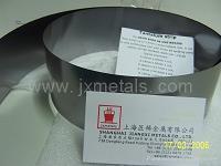 Niobium foil, Niobium ribbon, Nb foil, Niobium film, Niobium tape