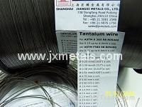 Tantalum wire per ASTM B365
