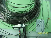 Tantalum alloy wire ( 97.5% tantalum, 2.5% tungsten, Ta2.5W )