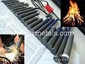 "3/8""x 4"" Ferrocerium Flint Rod Mischmetal Flints Fire Starter- Metal Match 1"