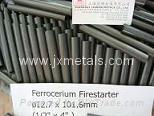 "1/2""x 4"" Ferrocerium Flint Rod - Mischmetal Flint Fire Starter- Metal Match"