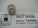 Tantaloy Inlet Valve Spring for Gas Chlorinators / Chlorine Feeders