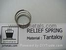 Tantaloy Relief Spring for Gas Chlorinators