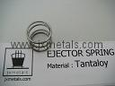 Tantaloy Ejector Spring Check Va  e Spring for Chlorinators Regulators