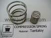 Tantalum Compression Spring(Tantaloy) for Chlorinators/Regulators