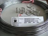 Tantaloy metal wire NRC 91 (Tantalloy, 92.5%/7.5% Ta/W, Ta-7.5W) 1