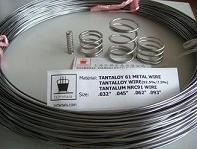 Tantaloy metal wire NRC 91 (Tantalloy, 92.5%/7.5% Ta/W, Ta-7.5W) (Hot Product - 1*)