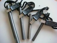 """1/2""""x6""""Firesteel -Army model -Fire Steel-Firesteels Flintsteel firestrikers"""