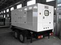 mobile trailer generator with DCEC Cummins engine