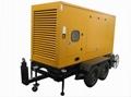 diesel generators with mobile trailer mounted