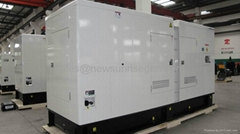 160kw/200kva Perkins diesel generator set with engine 1106A-70TAG4