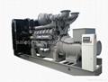 diesel generator set 728kw/910kva,with Perkins engine 4008TAG2A