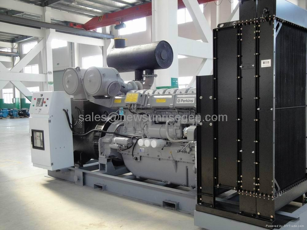 Perkins diesel generator 1250kva/1000kw prime,with Perkins engine 4012-46TWG2A