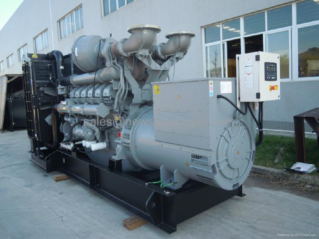 Perkins diesel generator 1360kw/1700kva prime,with Perkins engine 4012-46TAG3A