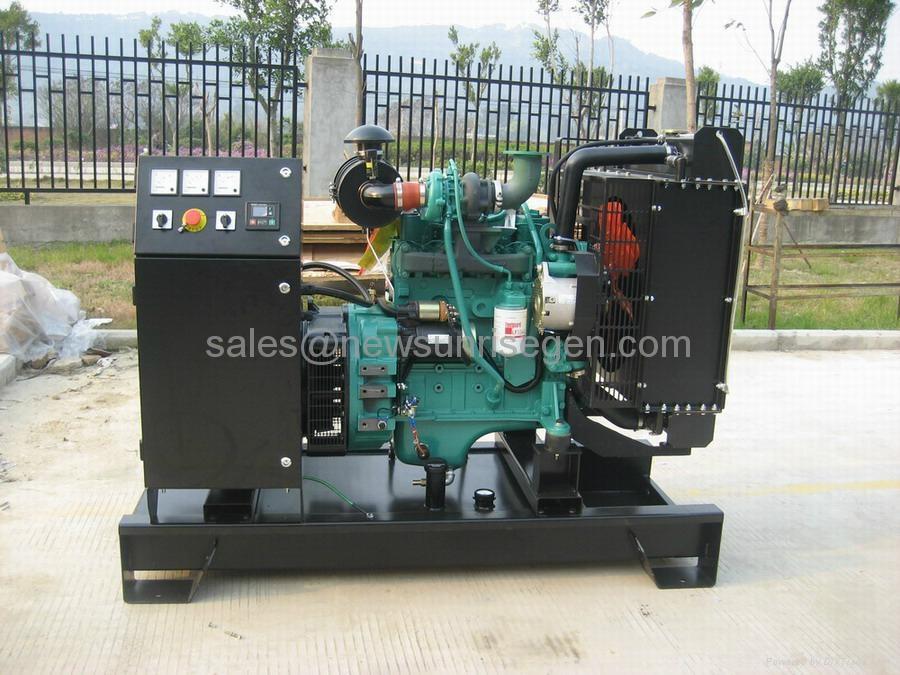 Cummins diesel generator 30kva/24kw ,with Cummins engine 4B3.9-G1/4B3.9-G2