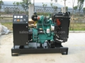 Cummins diesel generator 30kva/24kw ,with Cummins engine 4B3.9-G1/4B3.9-G2