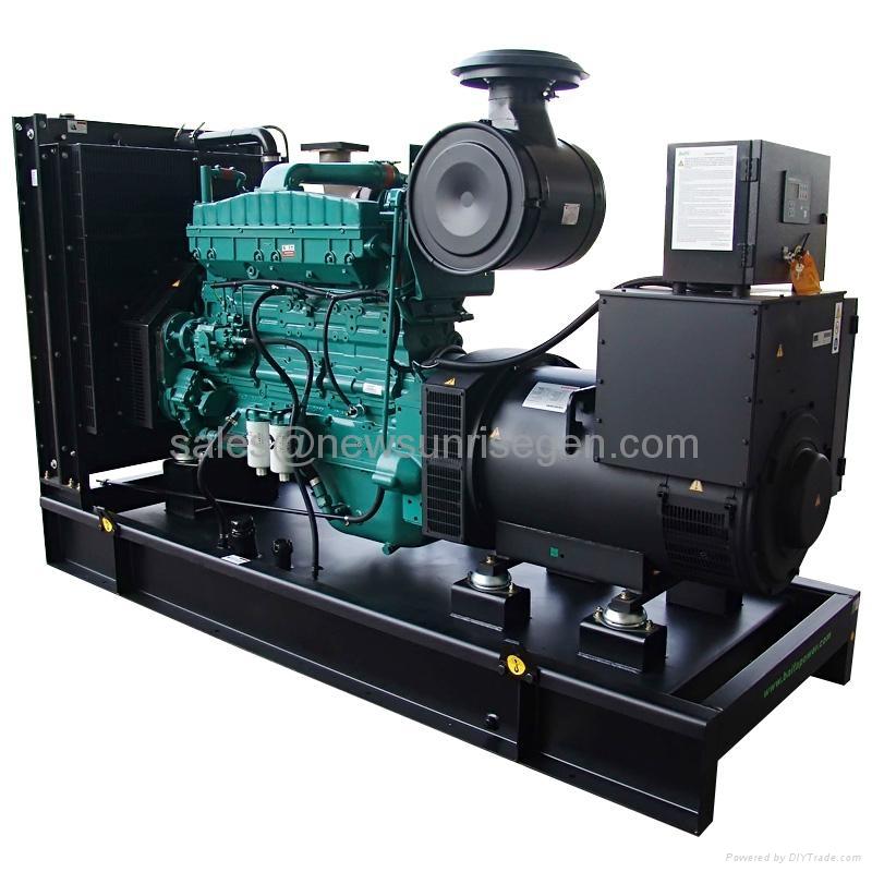 Cummins diesel generator open frame 160kw/200kva,with engine 6CTAA8.3-G2