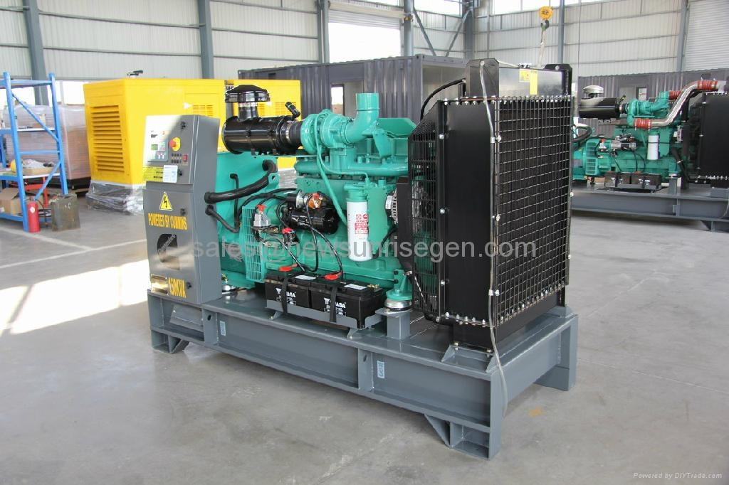 150kva/120kw standby Cummins diesel generator,with Cummins engine 6BTAA5.9-G2