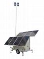 solar LED lighting tower