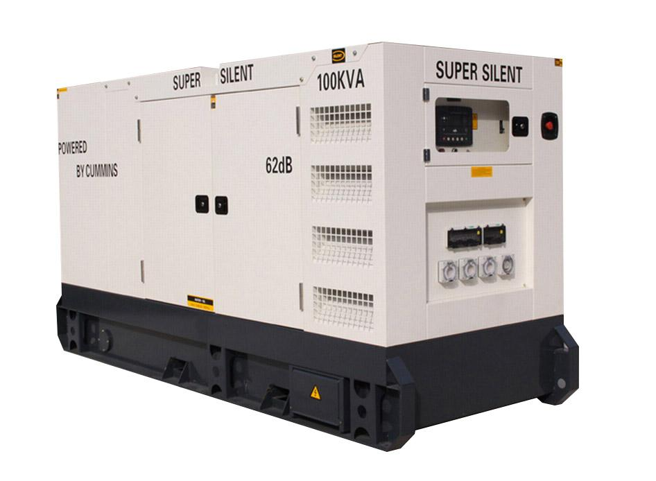 super silent Cummins generator 100kva for Australia/New Zealand standard
