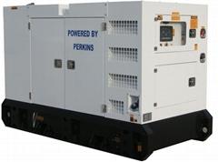 Perkins diesel generator set 30kva 1103A-33G