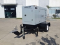 mobile diesel generator for telecom,with trailer, powered by Perkins,Cummins etc