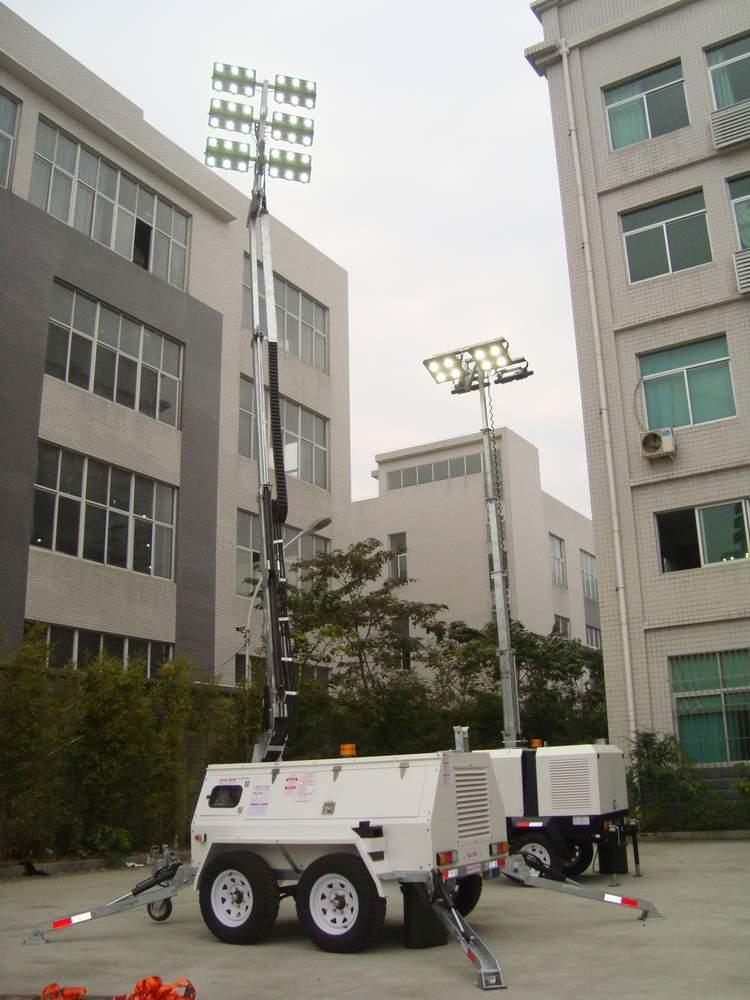 mine spec LED lighting tower 1