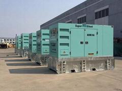 FPT Iveco 60kva/48kw diesel generator,50hz/60hz,with silent type