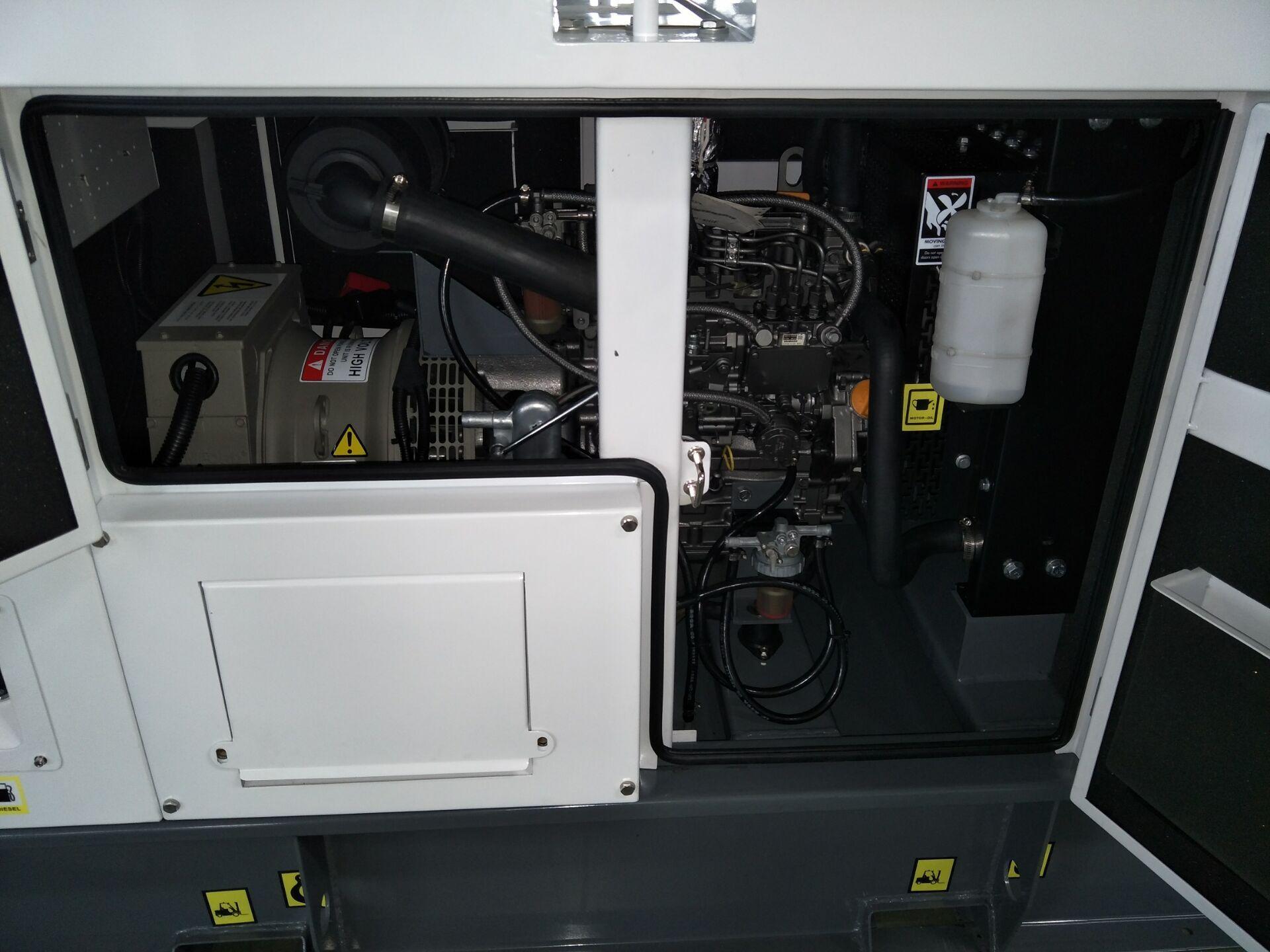 Yanmar generator set 13kva/10kw,with engine model 3TNV88-GGE, 50hz/60hz, silent