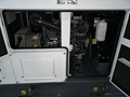 Yanmar generator set 13kva/10kw,with engine model 3TNV88-GGE, 50hz/60hz, silent