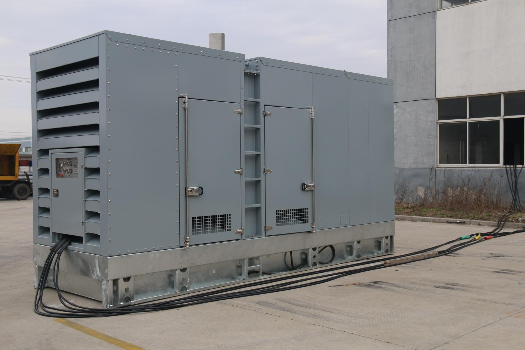 Cummins generating set 750kva/600kw ,50hz/60hz,with engine KTA38-G2,super silent