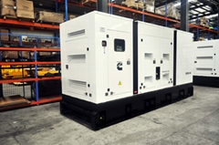 Cummins generating set 550kva standby ,50hz/60hz,engine KTA19-G3A,silent type