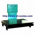 mechanical floor scale