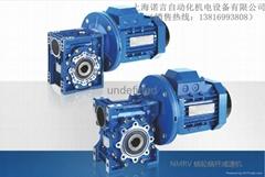 供应东历电机NMRV铝合金中空蜗轮减速机、RV减速机、蜗轮蜗杆减速机