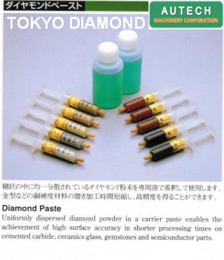 Tokyo Diamond Polishing Products精密抛光液