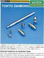 DTS硬度計圧子、東京鑽石硬度測試頂針、TOKYO DIA 2