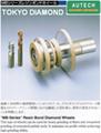 MBシリーズレジンボンドホイール、DTS硬质合金钻头加工砂轮 1