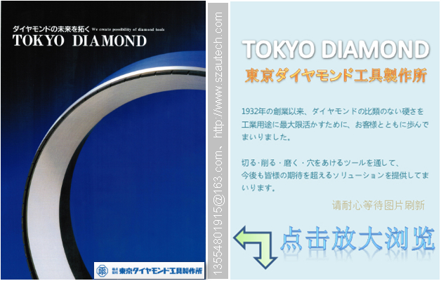 DTSメタルボンド総形CBNホイール、东京钻石金属结合剂砂轮 4