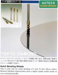 DTSノッチ面取りホイール、东京钻石工具制作所面取金刚石工具