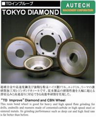 東京鑽石製作所ハイス工具研削用BJ0ボンドCBNホイール